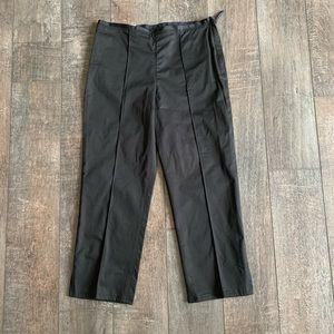 GAP Classic Fit Side Zip Crop Pant